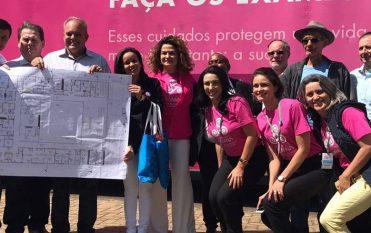 Campanha Ilumina de prevenção e diagnóstico precoce de câncer