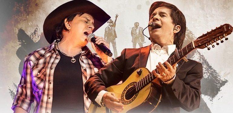 Estão abertas as vendas para o show de Chitãozinho e Xororó em Piracicaba; renda será revertida a Ilumina
