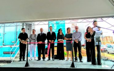 Veja fotos da cerimônia de inauguração da Carreta Ilumina