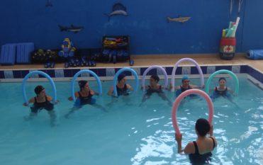 Hidroterapia em grupo