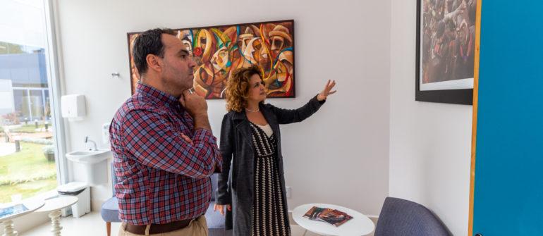Diretor da Drogal visita as instalações do Hospital Ilumina