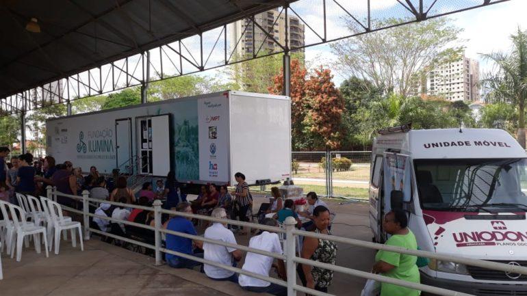 Confira a reportagem da EPTV sobre as atividades do #OutubroRosaIlumina