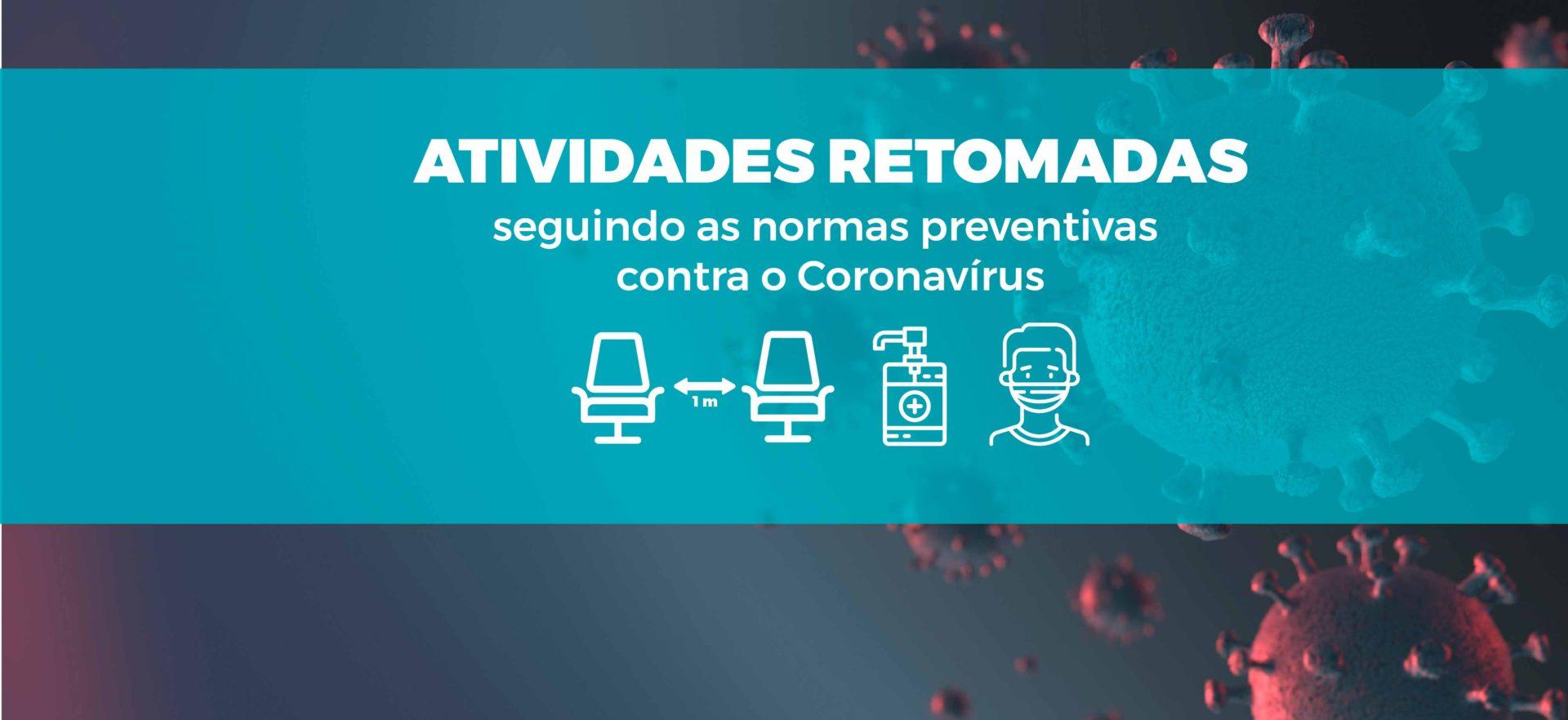 ATIVIDADES RETOMADAS